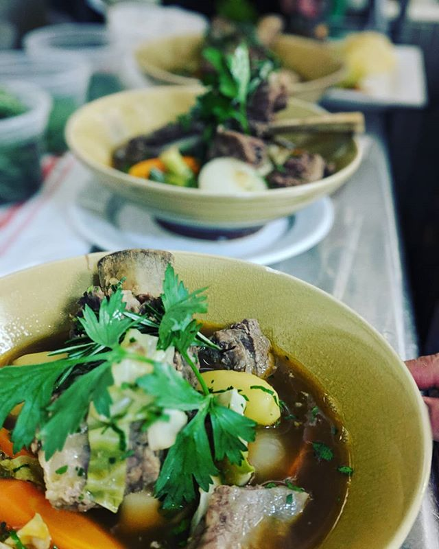 #gnomgnom #special #potaufeu #timessquare #manhattan #restaurantlife #bistro #nyc #followforfollowback