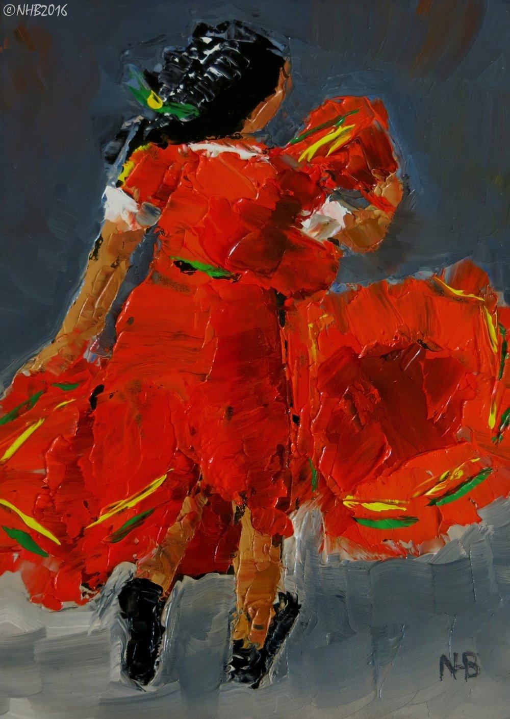 La Niña Baila (Naranja)
