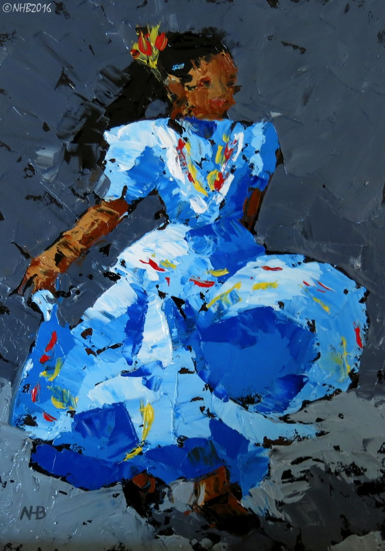 La Chiquita Baila (Azul)
