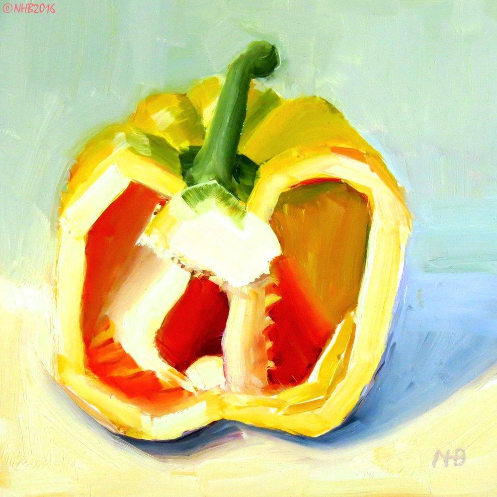 Yellow Pepper Half
