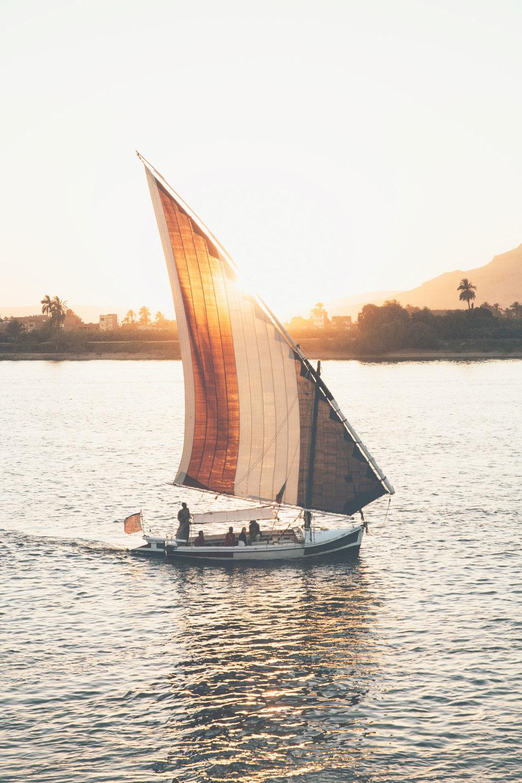 The Nile River, Luxor, Egypt
