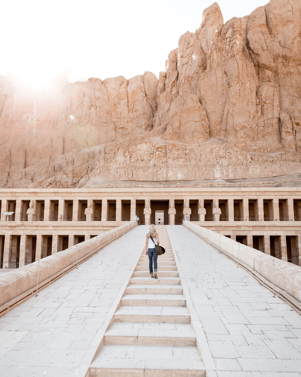 Temple of Hatshepsut, Valley of the Queens, Luxor, Egypt