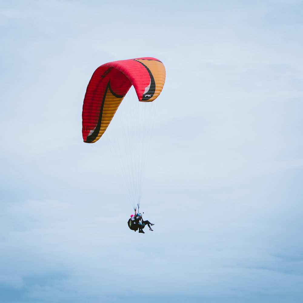 Paragliding  in Jarabacoa, Dominican Republic