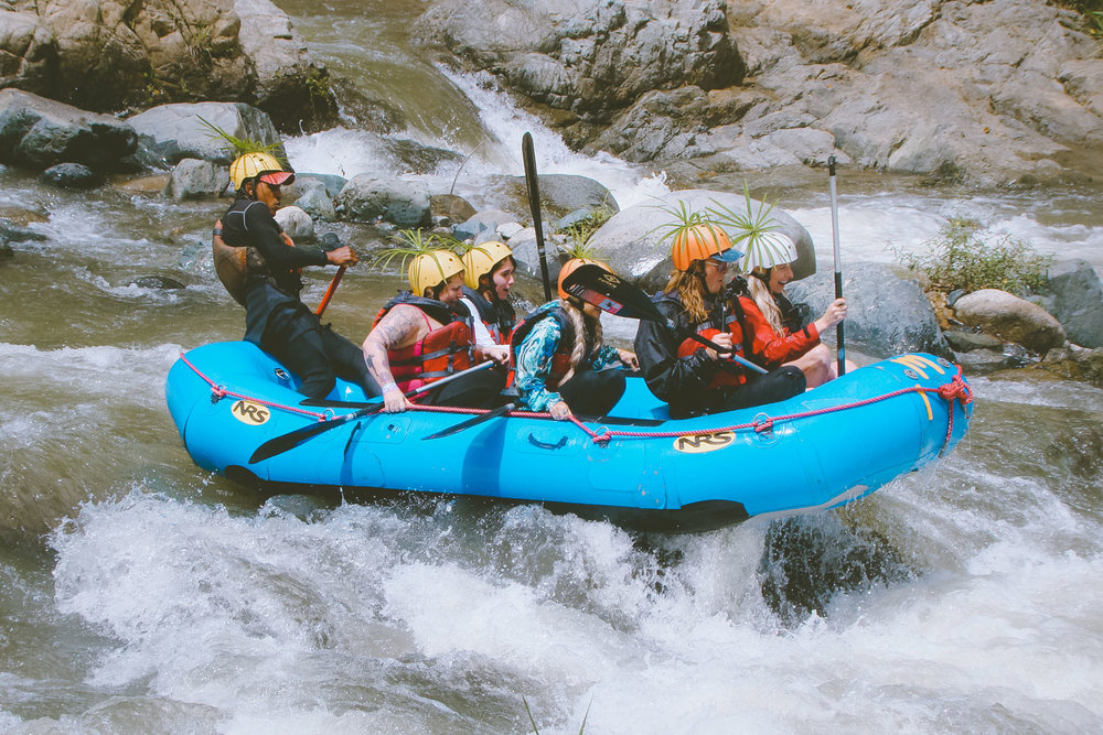 River Rafting Yaque Del Norte at  Rancho Baiguate