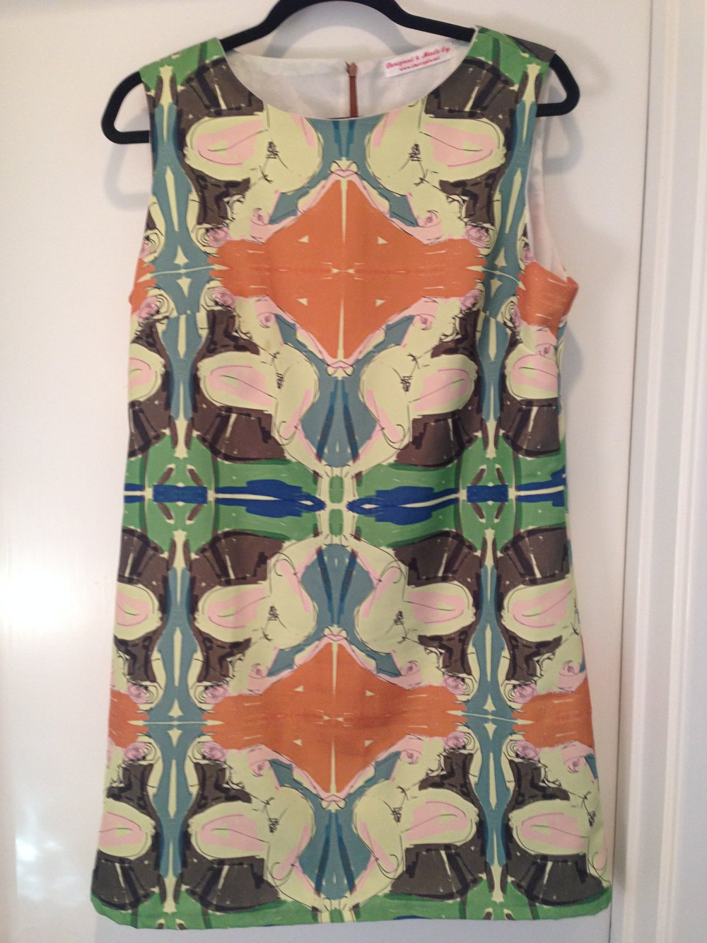 My second dress prototype is now in the collection of interior designer Vicki Simon.