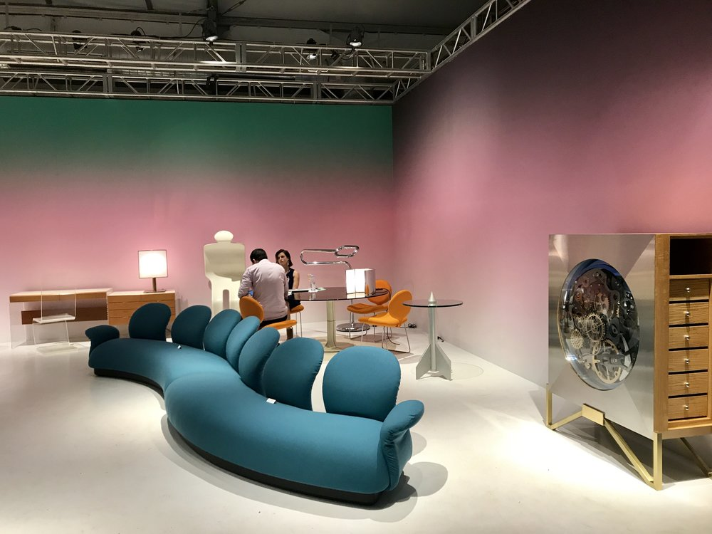 Design Miami - this was a beautiful series of sets...