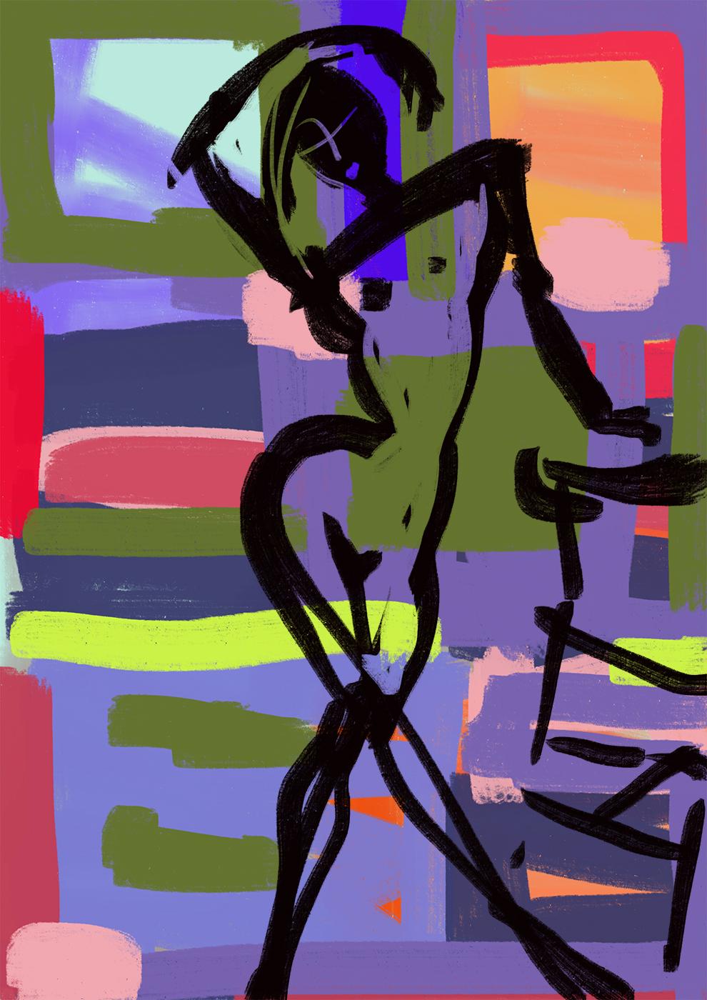Abstract Series: Fiesta