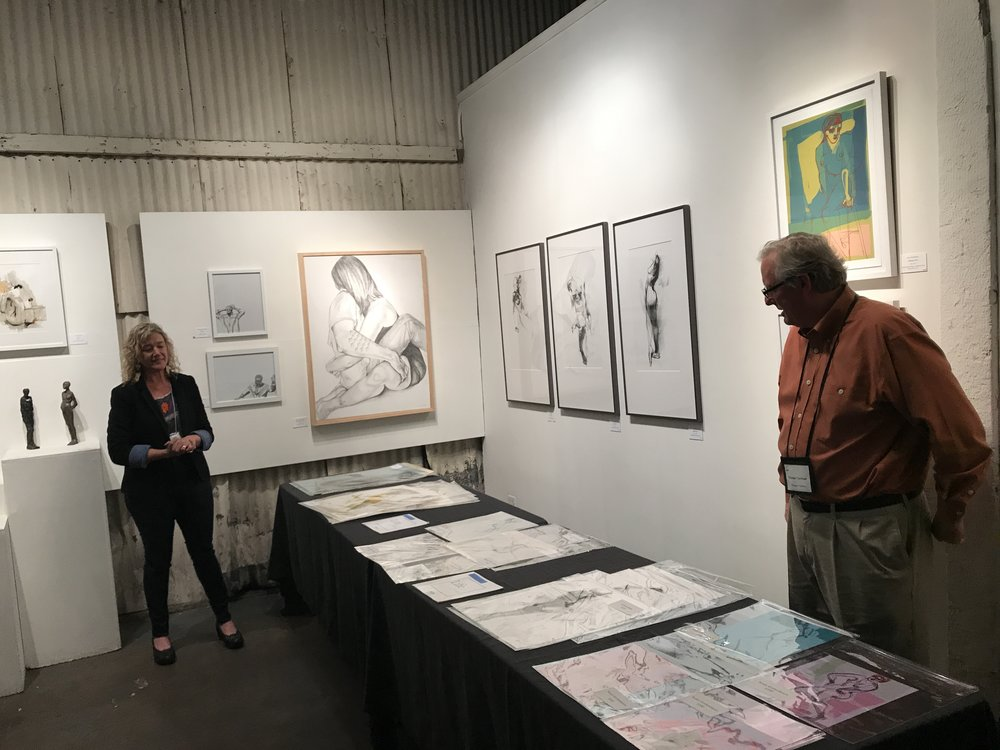 Arc Gallery Closing Event with Artists' Talks, Life/Live Show, Spring 2018