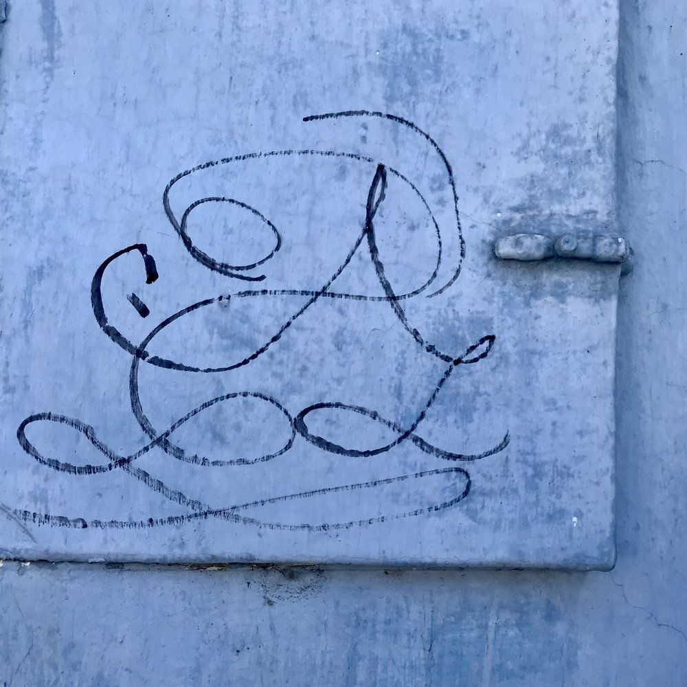 Lovely calligraphic graffiti wall (1)