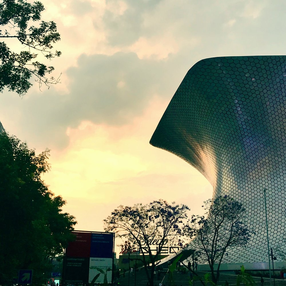Jumex, one of several contemporary art museums in Mexico City.