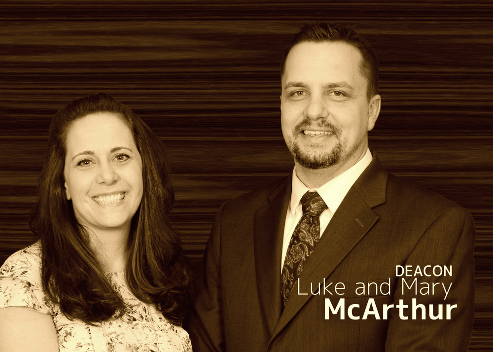 Deacon  Luke & Mary McArthur