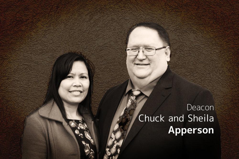 Deacon  Chuck & Sheila Apperson