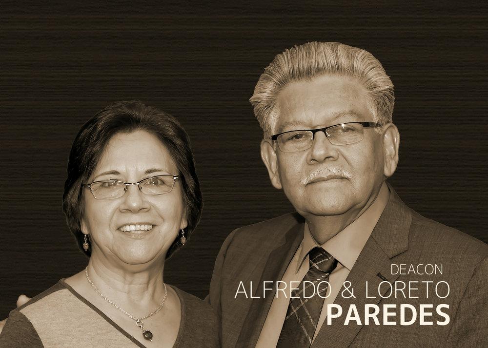 Deacon  Alfredo & Loreto Paredes