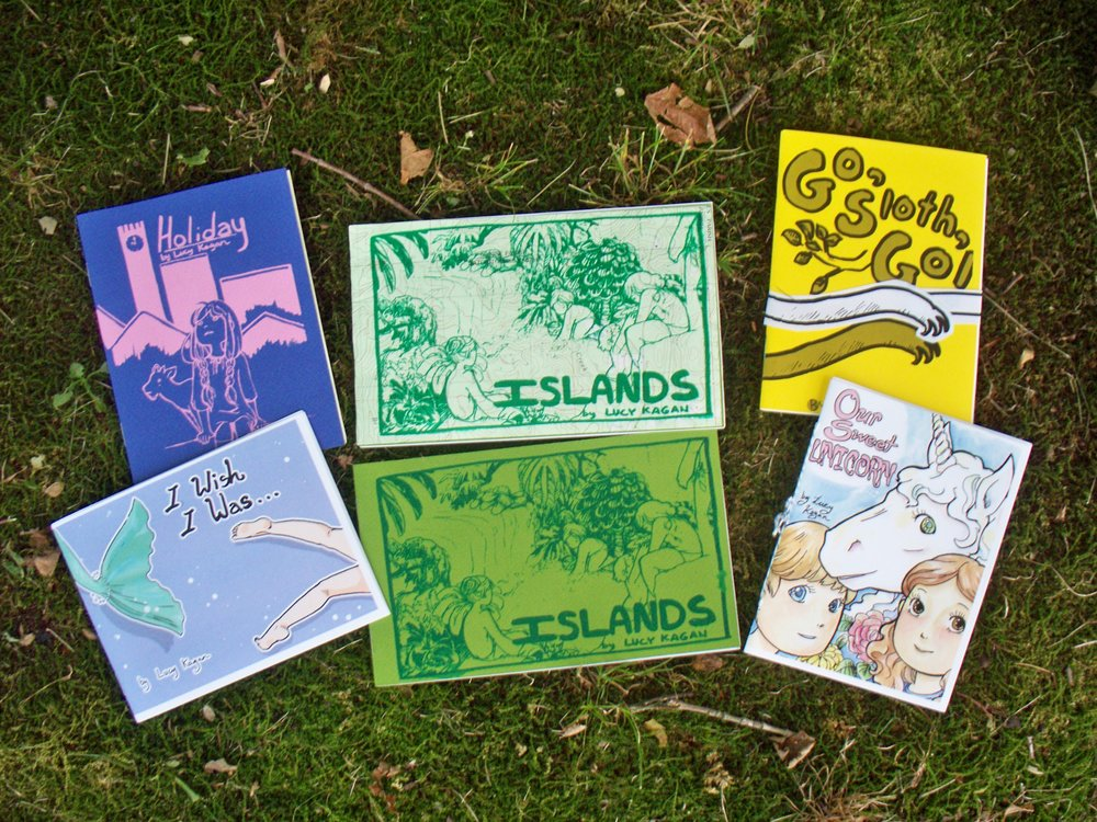 Various Minicomics by Lucy Kagan