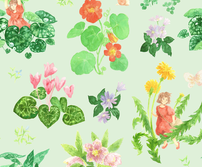 Little Ida's Flowers - Apparel Print