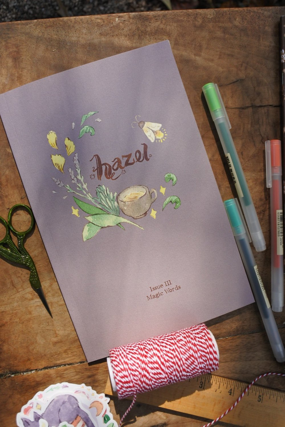 Hazel Issue III: Magic Words