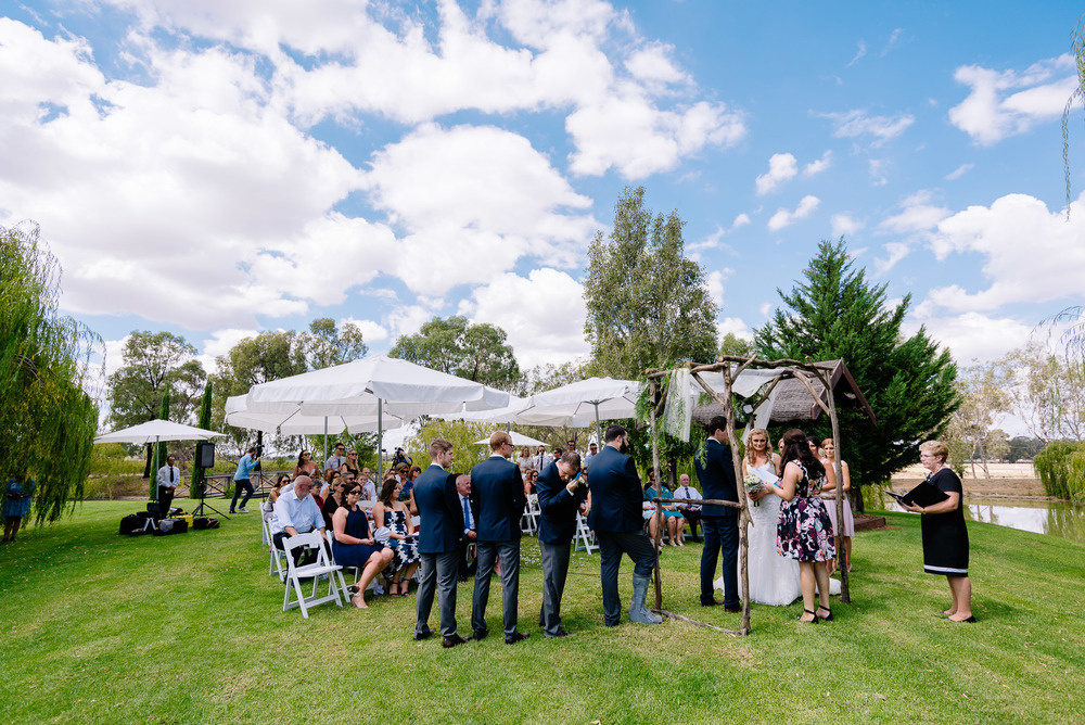 Perricoota Vines Wedding Photographer Echuca Moama