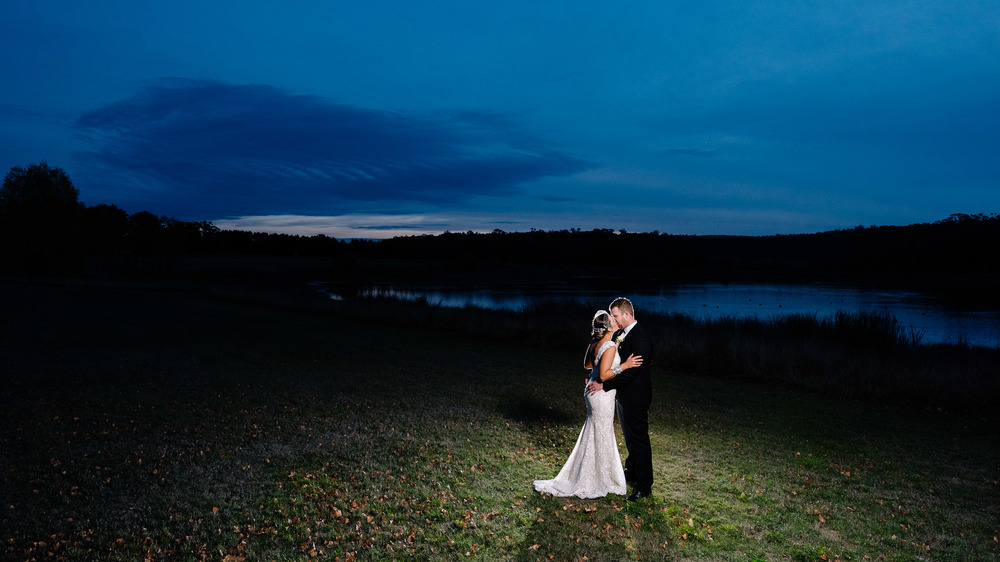 Sault Daylesford Wedding Photography Sunset