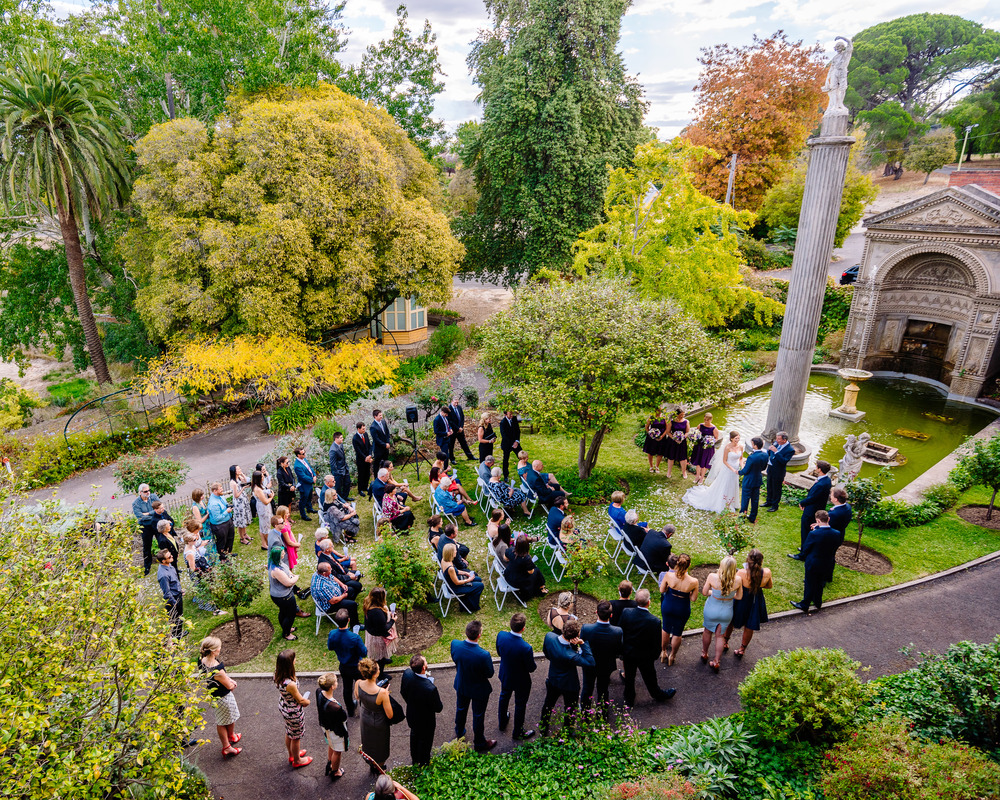 Fortuna Villa Wedding Bendigo