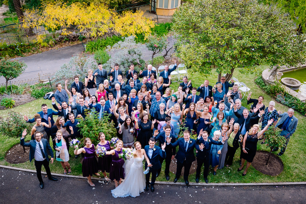 Fortuna Villa Group Wedding Photo