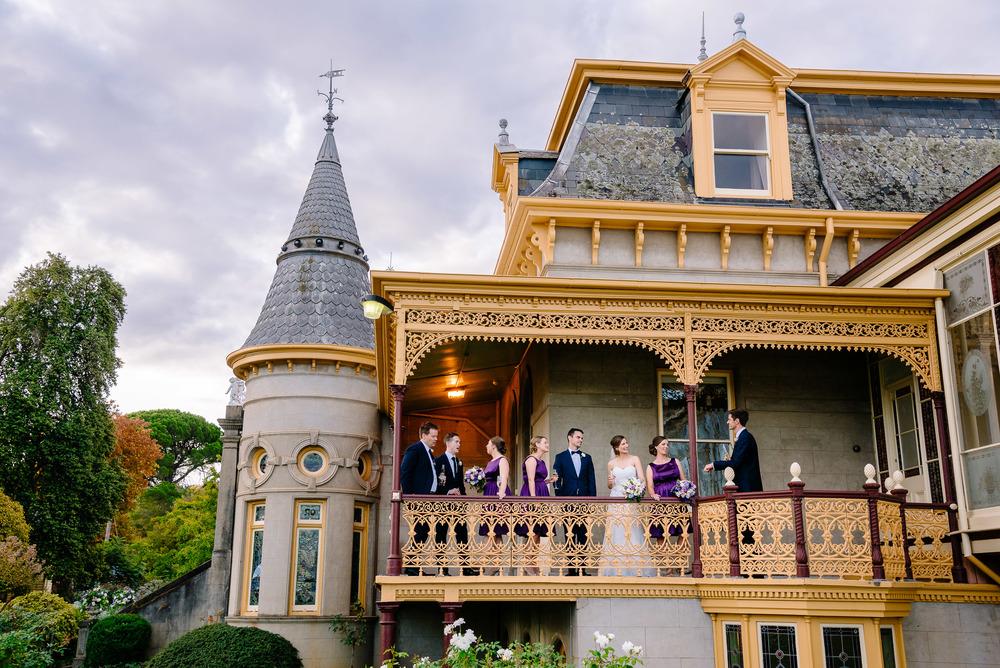 Fortuna Villa Bendigo Bridal Party