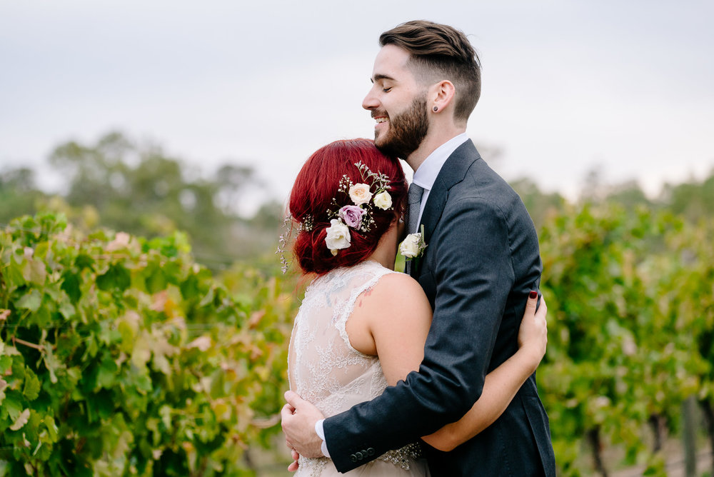 The Vineyard at Sutton Grange Winery Wedding
