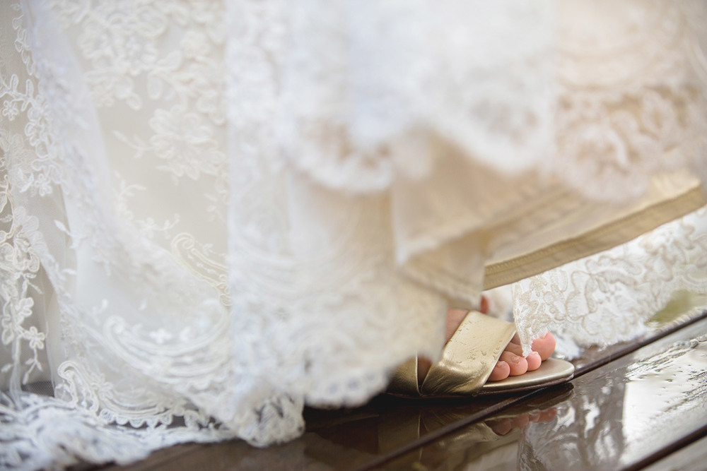 Sunshine Coast Wedding Shoes Photography