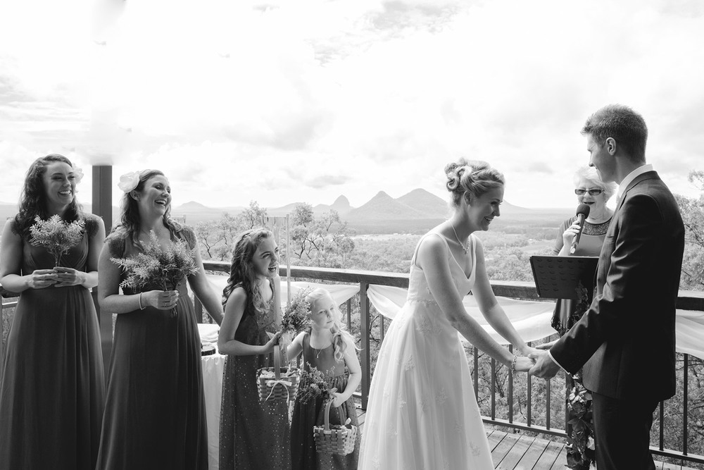 Sunshine Coast Hinterland Wedding Photographer Glasshouse Mountains