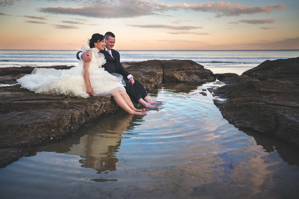 Sunshine Coast, Australian Destination Photographers - Noosa Heads Beach Wedding Elopement