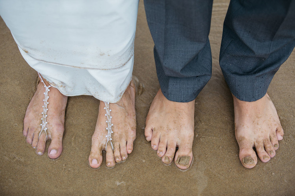 Rainy Noosa Beach Wedding - Sunshine Coast, Australian Destination Photographers