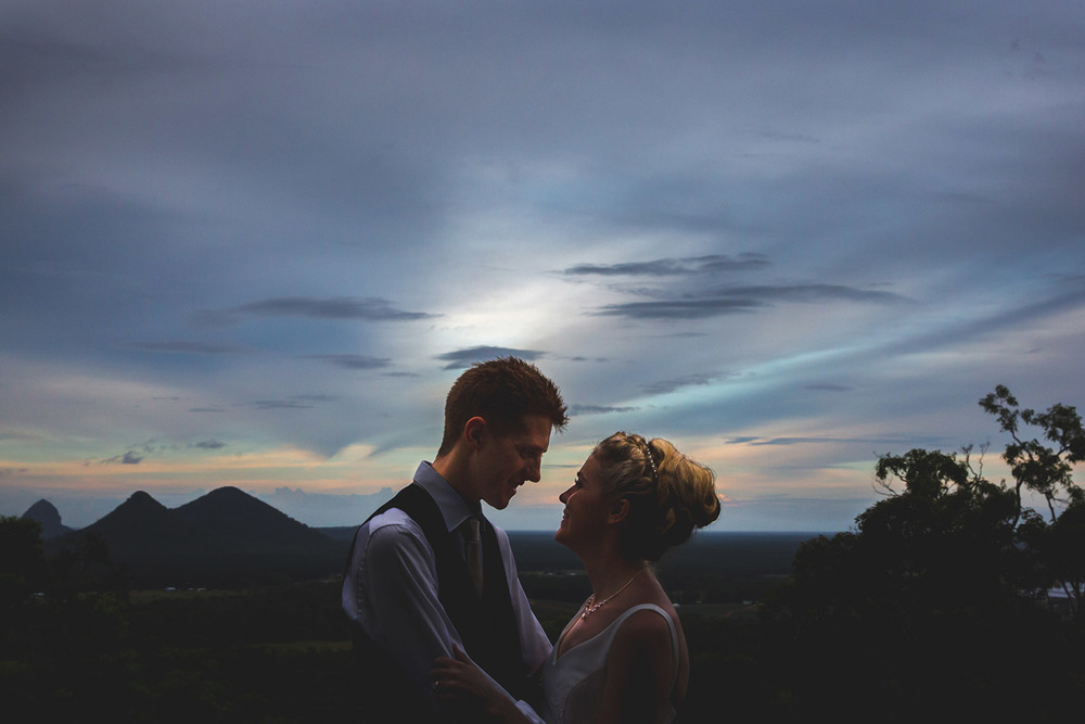 Glasshouse Mountains, Brisbane Pre Wedding Elopement Packages - Sunshine Coast, Queensland, Australian Destination Photographer