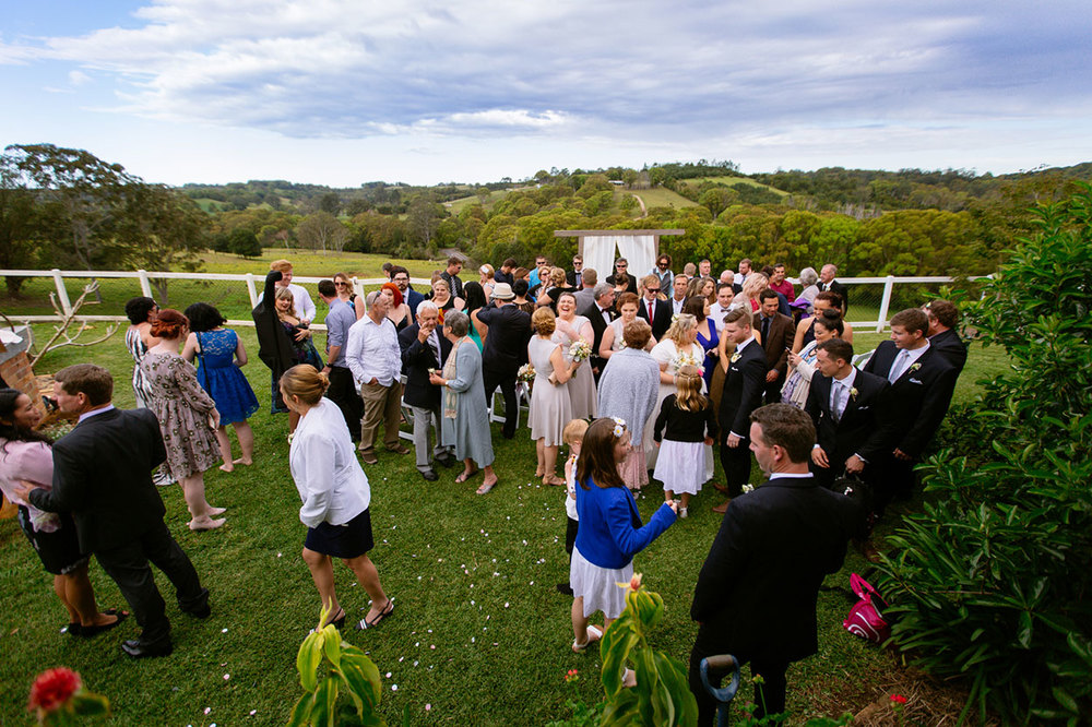 Bangalow, Byron Bay Destination Group Wedding Photos - Sunshine Coast, Australian Photographer