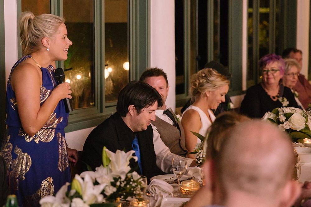 Wedding Reception Speeches, Montville - Sunshine Coast, Australian Pre Destination Photographers