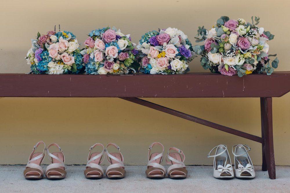 Flower Bouquet, Montville, Sunshine Coast Destination Pre Wedding Photographers - Brisbane, Queensland, Australian Elopement Packages