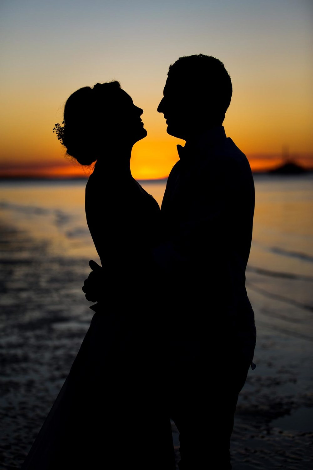 Noosa Beach and Brisbane Wedding Elopement - Sunshine Coast Pre Destination Photographers, Queensland, Australian