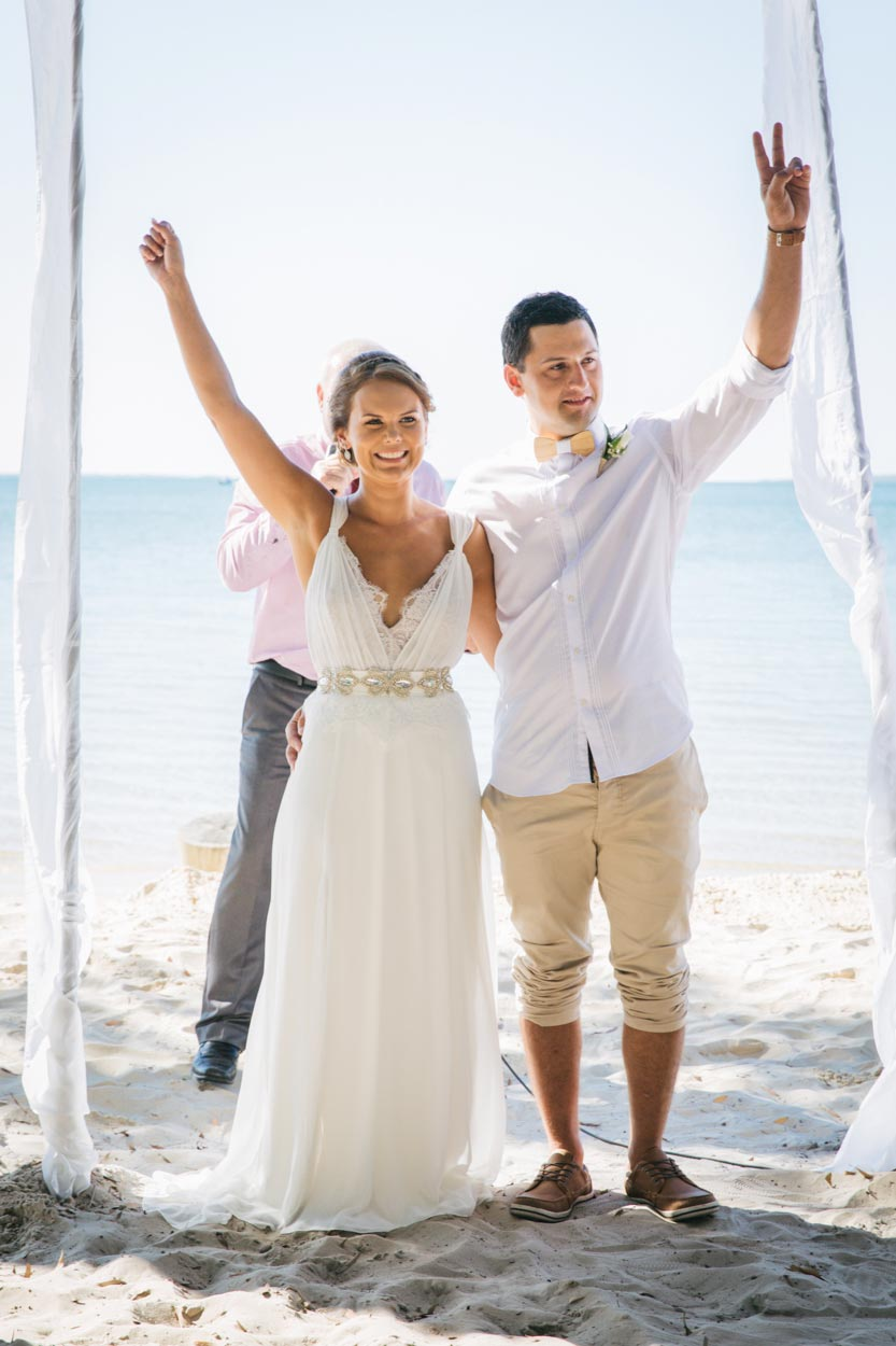 Wedding, Sunset Beach, Fraser Island - Noosa, Sunshine Coast, Queensland, Australian Destination Photographer