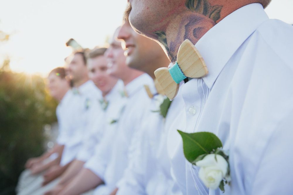 Brisbane Groom, Wooden Bowtie - Noosa, Sunshine Coast, Australian Destination Pre Wedding Photographers