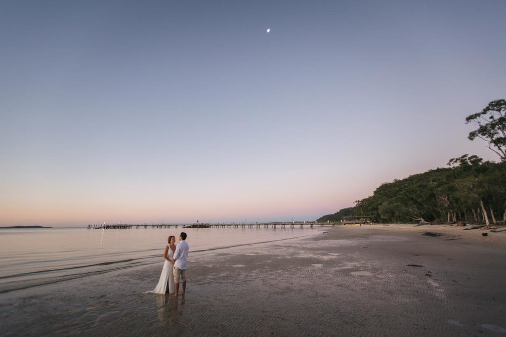 Sunset Beach, Fraser Island Wedding - Sunshine Coast, Queensland, Australian Destination Photographer