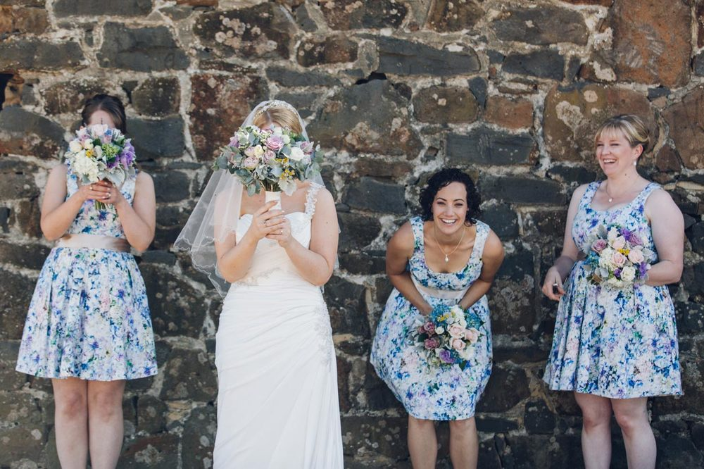 Maleny, Queensland Wedding Party Portraits - Sunshine Coast, Australian Photographer