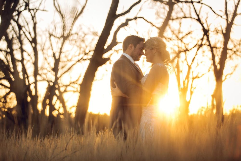 Maleny Wedding Sunset - Sunshine Coast, Australian Destination Photographer