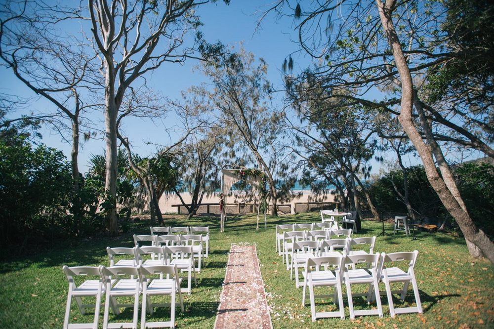 Noosa, Hidden Grove Beach Wedding - Sunshine Coast, Queensland Photographer
