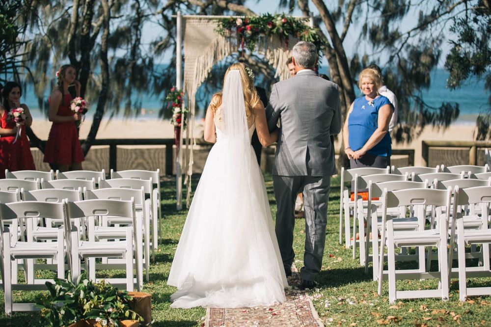 Hidden Grove Wedding Aisle, Noosa - Sunshine Coast, Australian Photographers