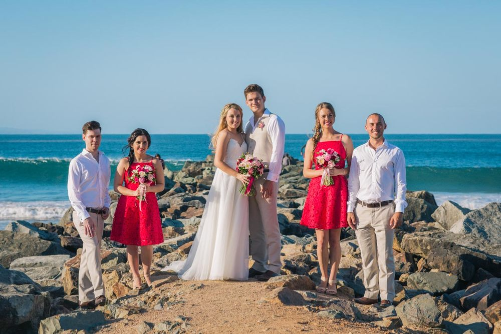 Classic Noosa Beach Wedding - Sunshine Coast, Queensland, Destination Australian Photographers
