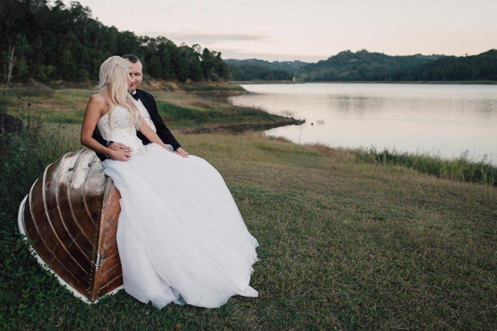 Montville, Secrets on the Lake Destination Wedding - Brisbane Couple, Sunshine Coast Photographer