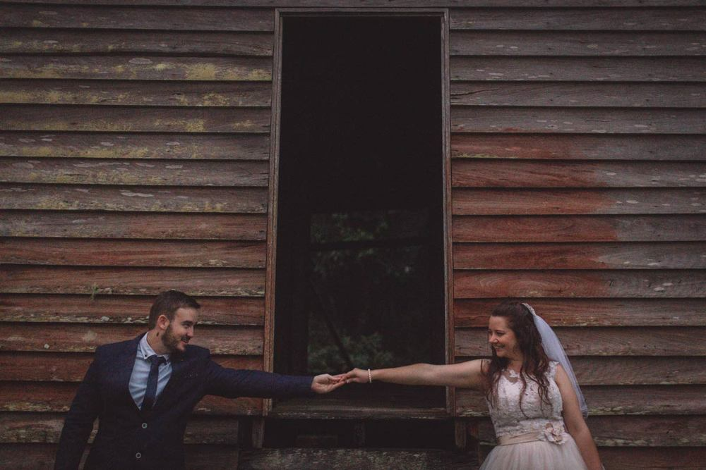 Gorgeous Rustic Montville Destination Elopement - Sunshine Coast & Brisbane Pre Wedding Photographers