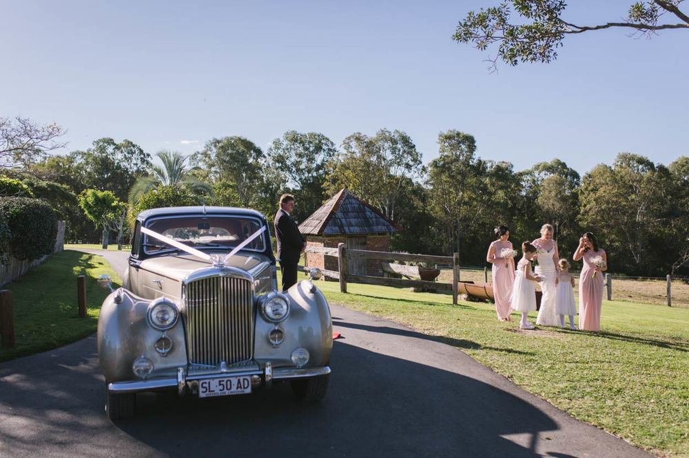 Yandina Station, Sunshine Coast Berti the Bentley - Brisbane, Australian Wedding Photographer Destination