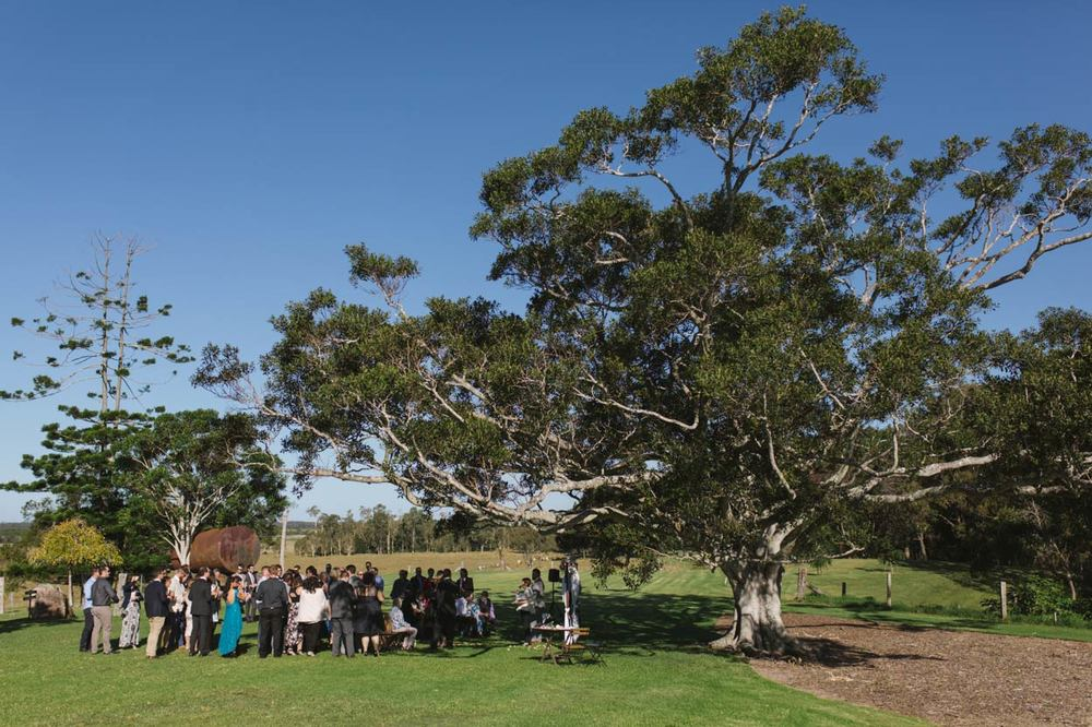 Yandina Station Fig Tree Ceremony, Sunshine Coast - Maleny, Australian Destination Wedding Photographers