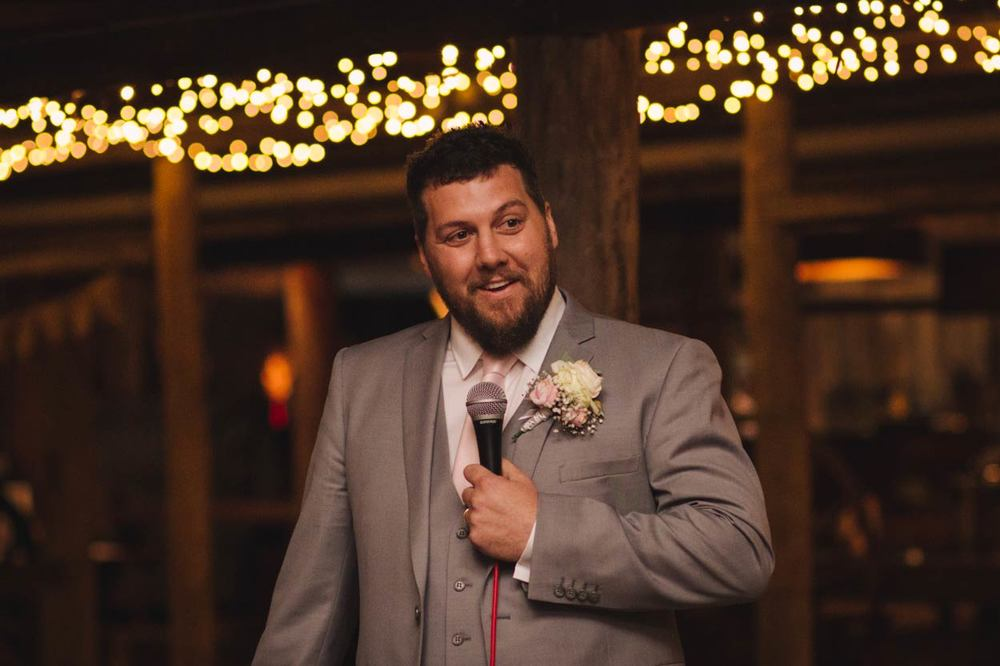 Groom Reception Speech, Yandina Station, Sunshine Coast - Best Brisbane, Queensland, Australian Photographer