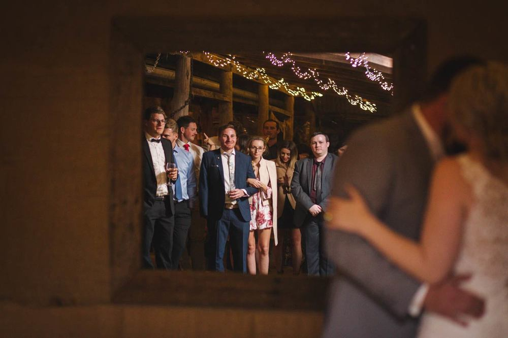 First Dance, Wedding Audience, Sunshine Coast - Brisbane, Yandina Station, Australian Elopement