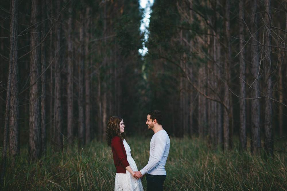 Noosa Hinterland Pre Wedding Engagement Shoot - Sunshine Coast, Brisbane, Australian Photographers